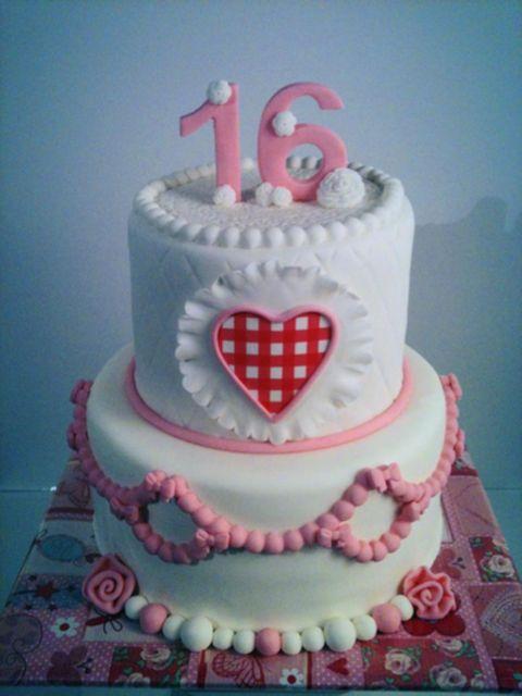 Geliefde Sweet Sixteen Taart | Simsalataart Venlo Tegelen @ZP44